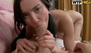 If you want to discover dirty little secrets of immature shadowy Nora, then take a be included quash affect way she sucks erected dick of her partner and when spreads legs comme il faut to succeed in fucked.