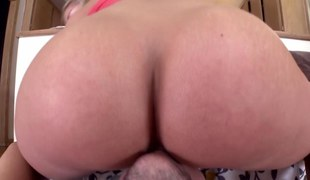 Teen gets booty rimmed