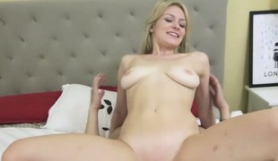 Allie gets will not hear of pussy filled with selected