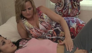 Kimberly Gates & Becca Blossoms in Mother Daughter Exchange Club #14, Scene #03 - GirlfriendsFilms