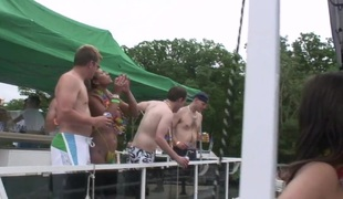 SpringBreakLife Video: Party Cove Chicks Pee As well