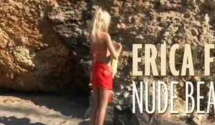Erica F - Nude Beach