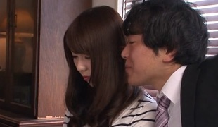 Yui Hatano in Yui Hatano met her ex lover, after a longing time - AviDolz