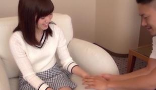 Surprising Japanese whore Mion Kawakami, Aoi Yuzuki, Nozomi Anzaki, Chika Hiroko in Crazy college, couple JAV scene