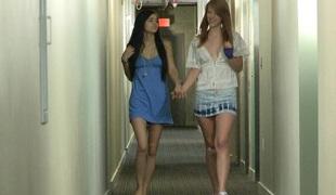 University girls dorm room untrue  myths hither zoological sapphist fondling