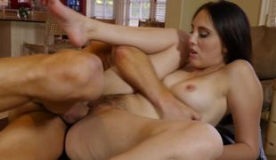 Thick ass chick Nickey Huntsman is his cock whore