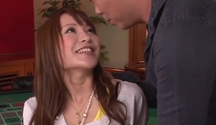 Dazzling Japanese whore Maomi Nagasawa in Incredible JAV well-shaped Teen video