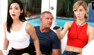 Malina Mars in Fathers Steady old-fashioned - FamilyStrokes