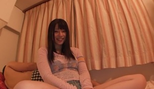 Best Japanese chick Ai Uehara in Crazy college, doggy style JAV movie