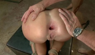 Tied and fucked abiding by one