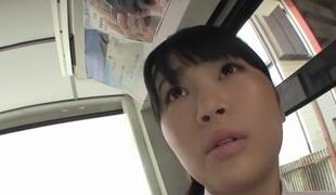 Hottest Japanese chick Satomi Nomiya in Incredible gangbang, big tits JAV scene