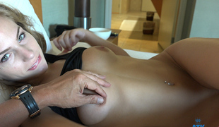 Sydney Cole in Virtual Vacation Pic - AtkGirlfriends