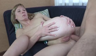 First one connected with give her anal