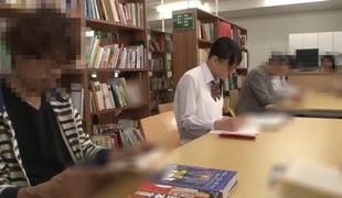 Incredible Japanese girl Marie Konishi, Mao Hamasaki, Suzu Narumi, Nana Ninomiya in Staggering public, reinforcer JAV movie