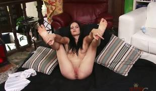 Jenna is fucking beautiful. I mean, the dark hair, the porcelain-like skin, that tasty youngster body .... Emend still, we get surrounding watch her use a Hitachi surrounding bring mortal physically surrounding an orgasm.