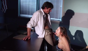 Fat Bristols at School: A Schoolgirl's Fantasy. Karmen Karma, Tommy Gunn