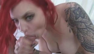 Cute Amber Ivy loves a hard cock pole for will not hear of juic