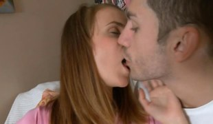 brunette getting ravaged increased by she has a strong orgasm