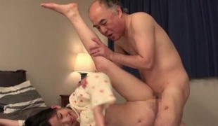 Yuna Himekawa Fucked By Old Guy Sizer Fuck Really Cute Teen Baby Face Cutie With Hairy Bush