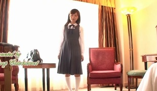 Crazy Japanese floozy Koko Seiko encircling Best fingering, couple JAV video