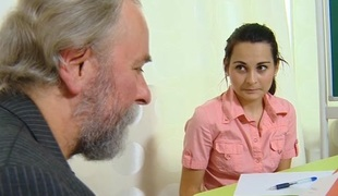 TrickyOldTeacher - Czech student fucked in hired hall by her old horny teacher