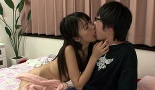 Tsubomi in Cutie lets her boyfriend sneak into her compass - JapansTiniest