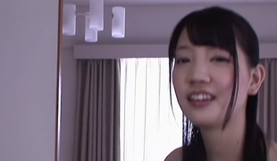 Horny Japanese slut Suzuki Koharu in Crazy fingering, college JAV movie