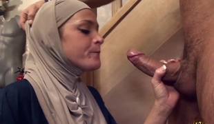 Salima Akim is the Arab floozy who can't live without anal