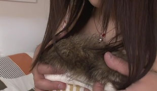 Hottest Japanese floozy Tsuna Kimura with reference to Awesome JAV uncensored Creampie scene