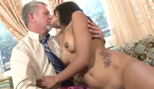 You would suffer from it naturally tough here resist your strong lust if you finish feeling stepdaughter as if Ruby Rayes. Watch this gung-ho young Latina painless she gets her sweet humid taco banged by her white stepdad.