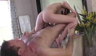Mollycoddle Kierra takes Roccos big eternal cock