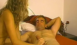 Hot blowjob scene with putrid amateur porn hottie with respect to homemade action