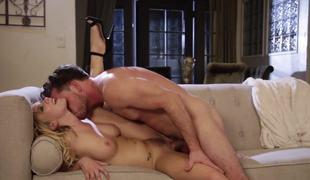 Amazing sexual relations act of Bailey Brooke together with Kyle Mason