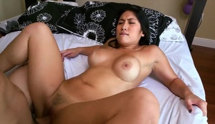 Hot exposed Asian piece of baggage Mia Li is drilled