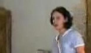 Brunette teen submissive slave punished hard