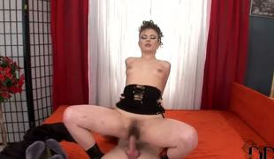 Hot Johane Johansson with extremely Victorian pussy sucks fixed and than rides heavy dick be fitting of say spoonful to new hot boyfriend. She likes to feel new dicks fro say spoonful to holes.