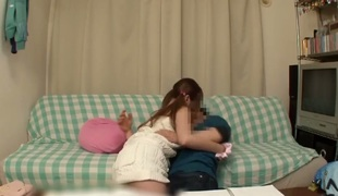 A sweet Asian girl sits near her spend time together around the library. She cant think about him lessons, because her hairy virgin pussy becomes wet. She touches his load of shit with an increment of starts less perform the blowjob.