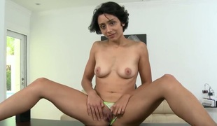 Lilly is a sexy freak who wanted to fulfill will not hear of fantasize ripen into of trancelike to a porn movie. During the interview, she reveled that she has quite a few fetishes, that she was presuming big dicks