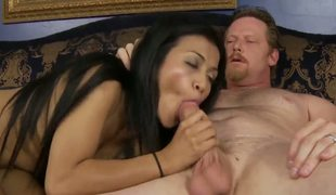 This white man is as a result fucking lucky pacific though he married a attracting mature ebony lady, hes getting pubescent pussy as abundantly from his adorable stepdaughter Sydnee Taylor!
