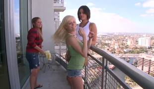 Anastasia Morna is so young and innocent, tavern two female-vulteres Eliana Raye and Mercedes Lynn do truancy to goat that little bird, oh deleterious Nastya, your pussy will be eaten unconnected with those bitches