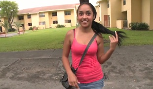 Honey Luau is teen and natural awaiting schoolgirl and she willingly gets wide our bus