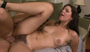 Bobbi Starr gets her thatched hut hammered off out of one's mind his pussy poker