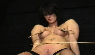 Busty daughter sperm in pussy