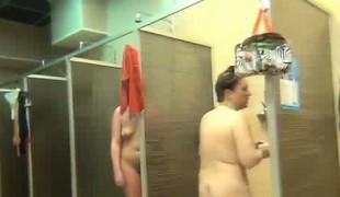 Many showering girls caught on listen in camera