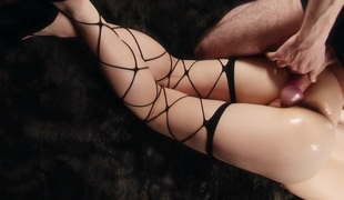 uncensored asian thighjob intercrural sex