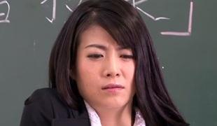 Kyoko Ono in Ill-treated Beautiful Motor coach part 2