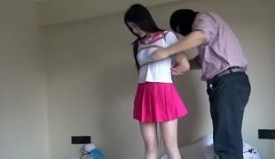 Chinese Schoolgirl Plighted